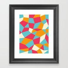 Boulderoid Series: Sunnyside Framed Art Print