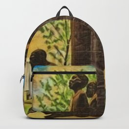 African American Masterpiece 'Lift Up Every Voice & Sing' based on the sculpture by Augusta Savage Backpack