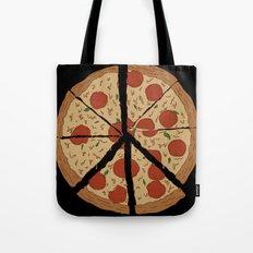 PEACE-A-PIZZA Tote Bag