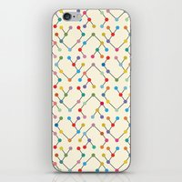 geek iPhone & iPod Skins featuring Geek by Helene Michau