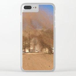 Aussie Dirt Clear iPhone Case