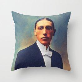 Igor Stravinsky, Music Legend Throw Pillow