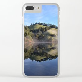 Perfection Reflection Clear iPhone Case