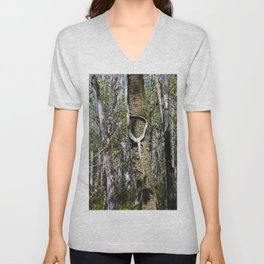 When a Banyan Says Hello Unisex V-Neck