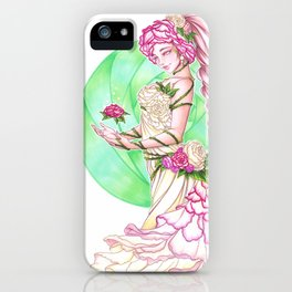 Lady Roses iPhone Case
