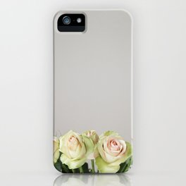 Green Roses iPhone Case