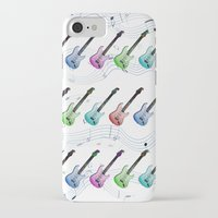 rock n roll iPhone & iPod Cases featuring Rock N Roll by FarrellArt