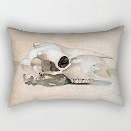 The Skull Rectangular Pillow
