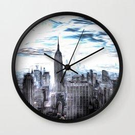 Manhattan Art Wall Clock
