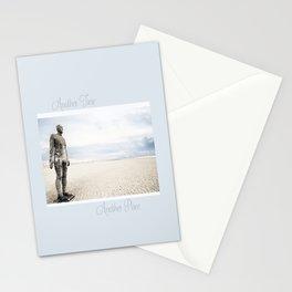 Crosby Beach Man  Stationery Cards