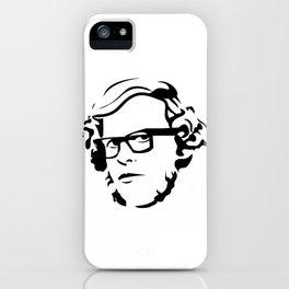 Graeme Garden iPhone Case