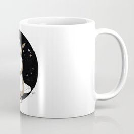 Space Goddess and the Golden Snake Coffee Mug