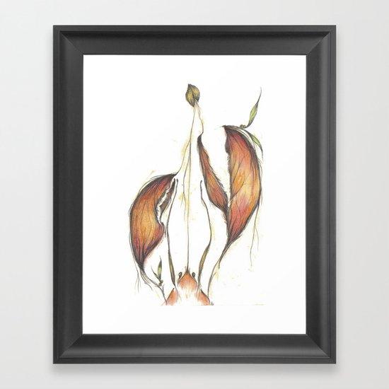 Lobster Tales Framed Art Print