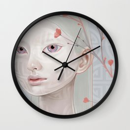 Japanese Blossom Wall Clock