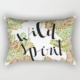 wild yellow Rectangular Pillow