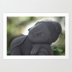 Peacefull thoughts Art Print