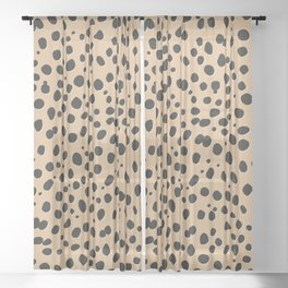 LEOPARD Sheer Curtain