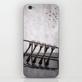 Birds flew away iPhone Skin