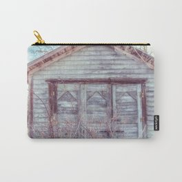 Rustic Old Shed Carry-All Pouch