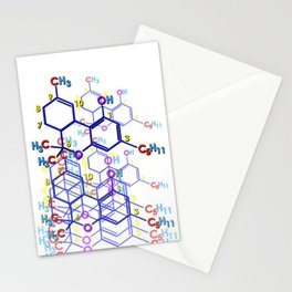 """THC: ENHANCE & TRANSMIT"" Stationery Cards"