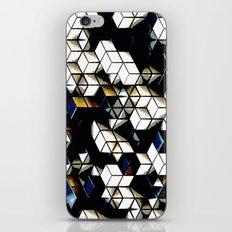 Comic Cubes iPhone & iPod Skin