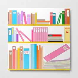 Favorite books Metal Print