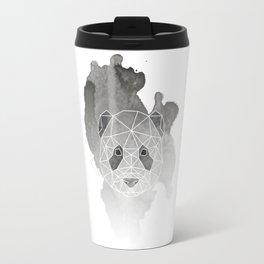 Geometric Panda Design Travel Mug