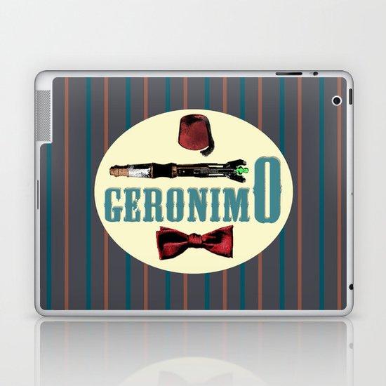 "Doctor Who: 11th Doctor - ""Geronimo"" Laptop & iPad Skin"