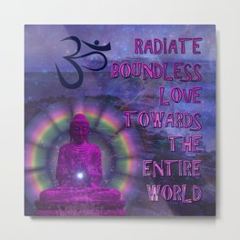 Boundless Buddha Metal Print