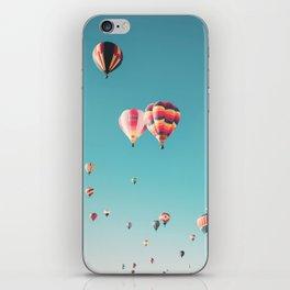 Hot Air Balloon Ride iPhone Skin