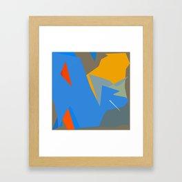 Deep in the wordly ocean Framed Art Print