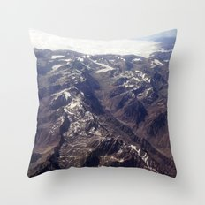 Beyond Andes Throw Pillow
