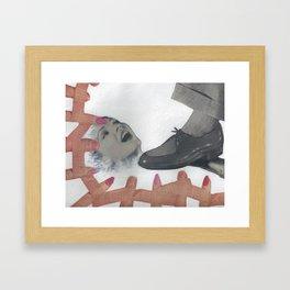 Brand Aid Framed Art Print