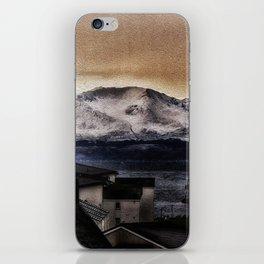 Arran in the snow iPhone Skin