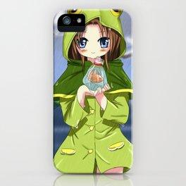 Poisson et Grenouille iPhone Case