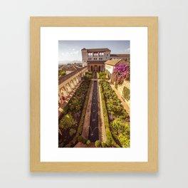 #laAlhambradeldia 114 Framed Art Print