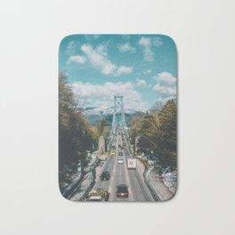 Lions Gate Bridge Bath Mat
