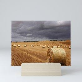 Harvest Before the Storm Mini Art Print