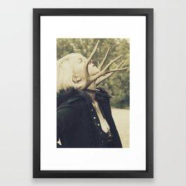 Hybrid Framed Art Print