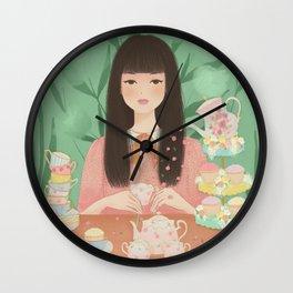 Tea Lady Wall Clock