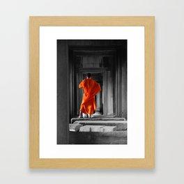 Saffron Portrait II Framed Art Print