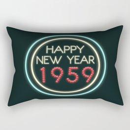 Happy New Year 1959! Rectangular Pillow