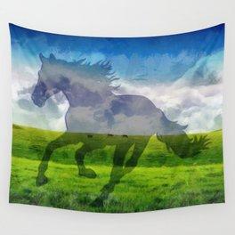 Horse fantasy Wall Tapestry