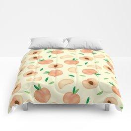 peach Comforters