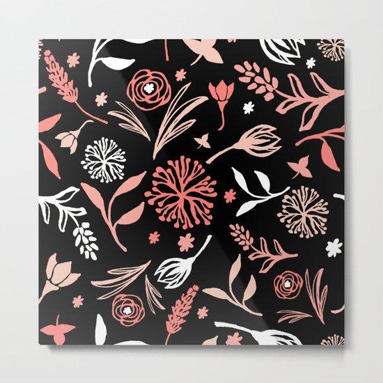 Flower pattern 2 Metal Print