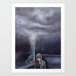 never go home (homesick) Art Print