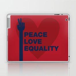 Peace Love Equality Laptop & iPad Skin