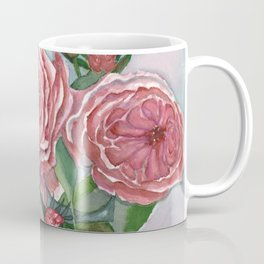 Cottage Roses Coffee Mug