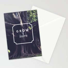 Grow & Learn Stationery Cards