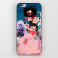 steven universe iPhone & iPod Skins featuring Steven Universe by Taylor Barron